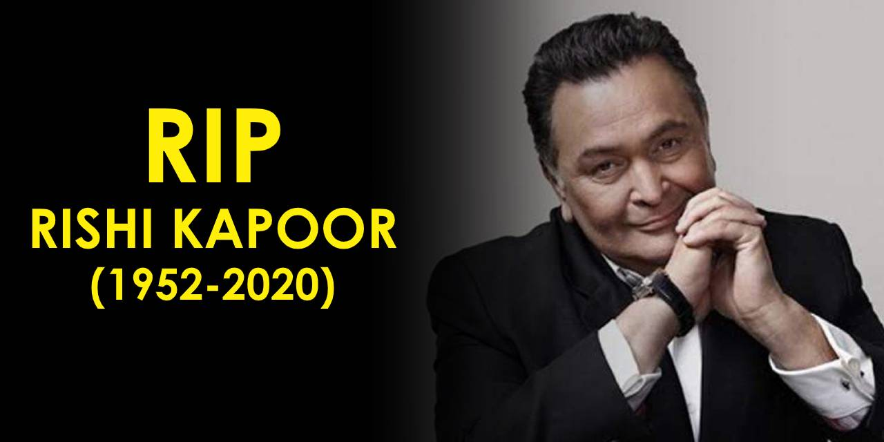 Legendary Actor Rishi Kapoor passes away in Mumbai