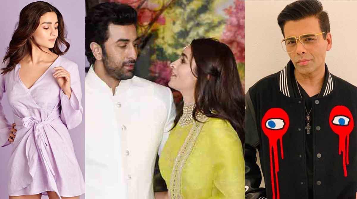 Karan Johar Accidentally Reveals A Secret About Alia-Ranbir!