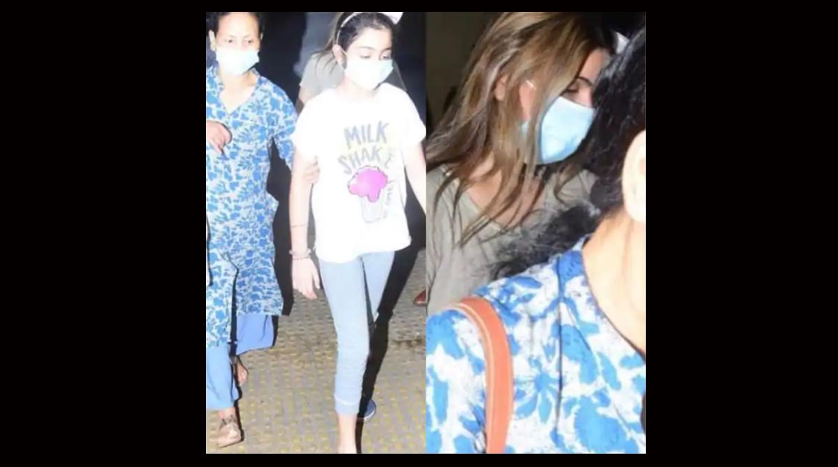 Late Rishi Kapoor's daughter Riddhima reaches Mumbai from Delhi
