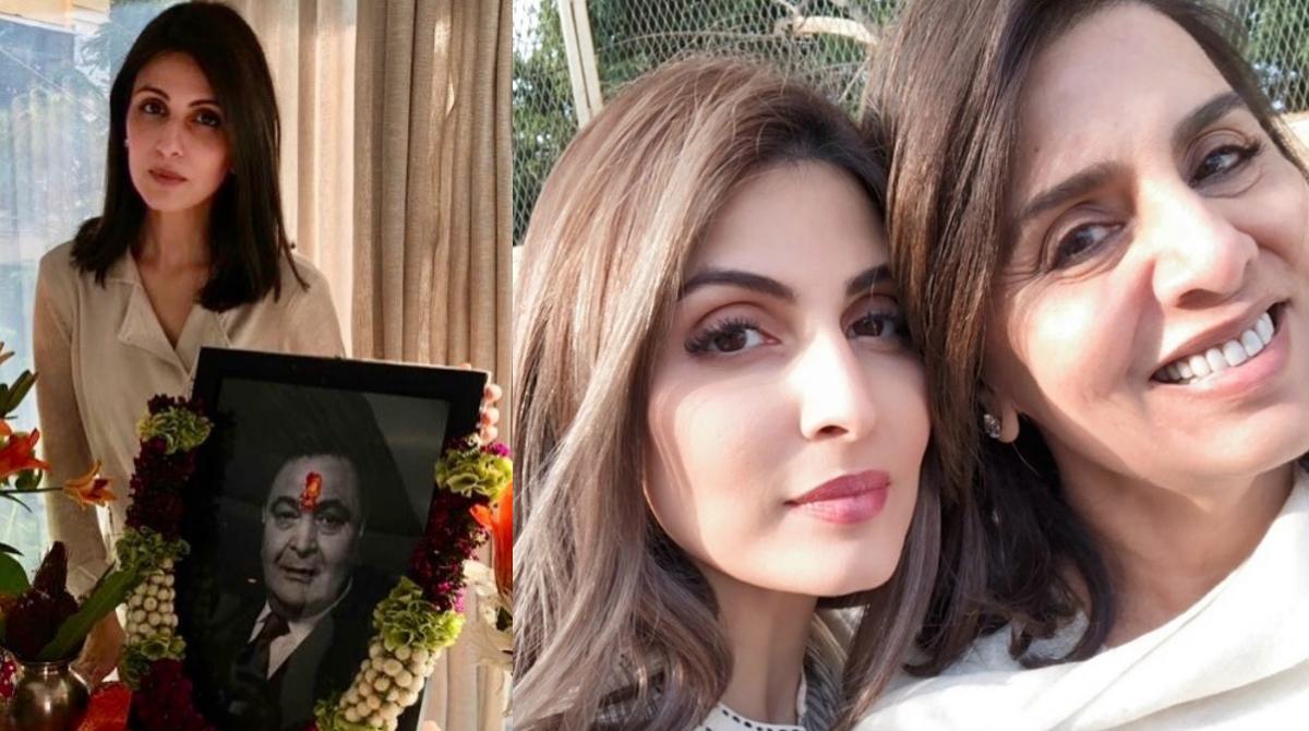 Riddhima posts Rishi Kapoor's Terahvi pictures
