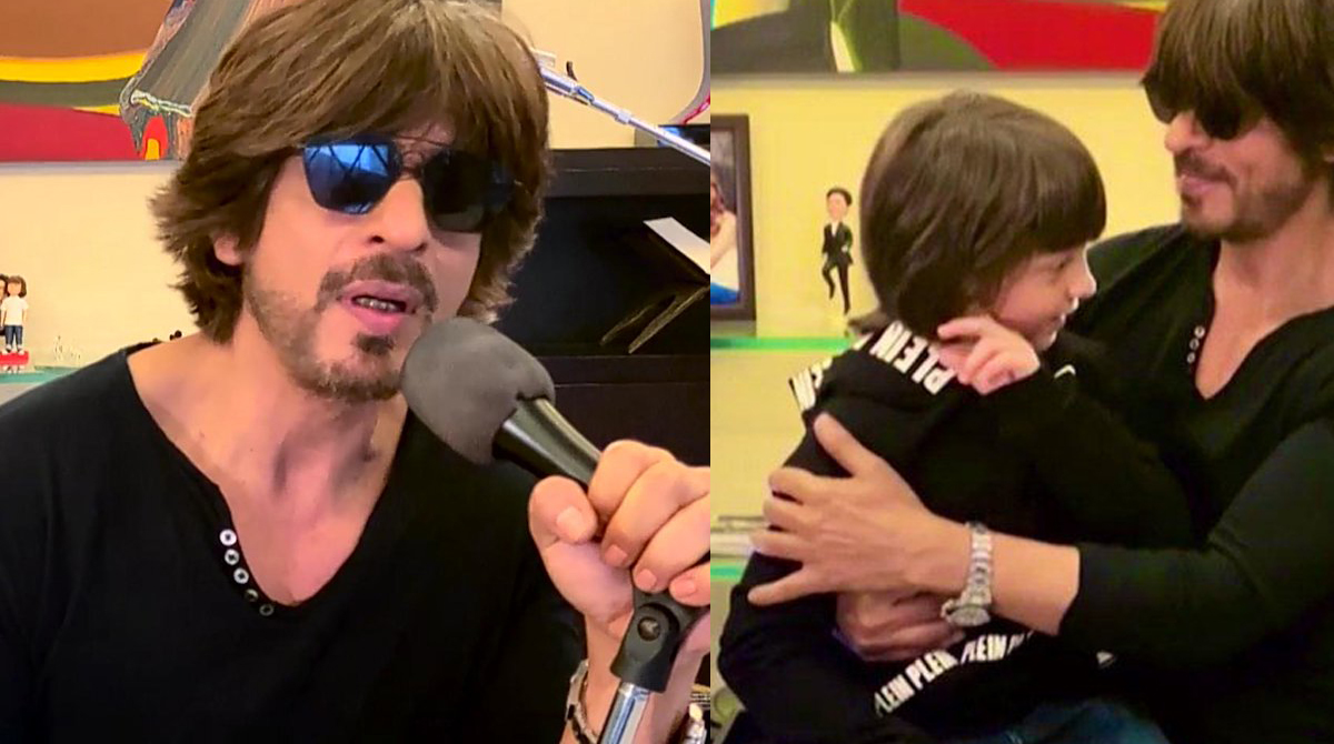 I For India Concert: Abram makes special entry with Shahrukh Khan!