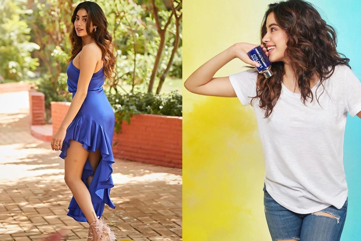 Janhvi Kapoor's simple yet elegant Monsoon look! PIC INSIDE