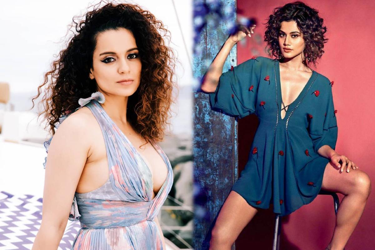 Team Kangana Ranaut calls Taapsee Pannu a 'chaploos'; Thappad actress reacts