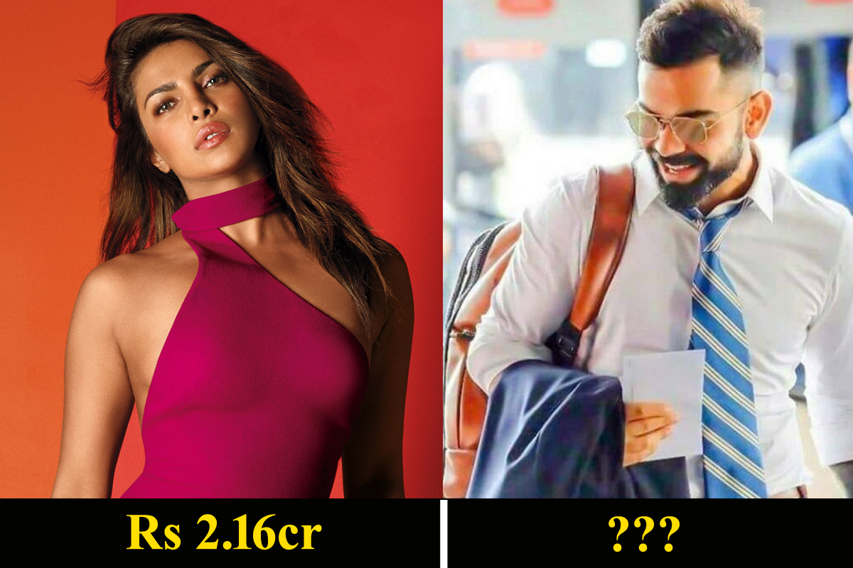 Piyanka Chopra earns Rs 2.16cr for a single Instagram post; Check Kohli's earnings!