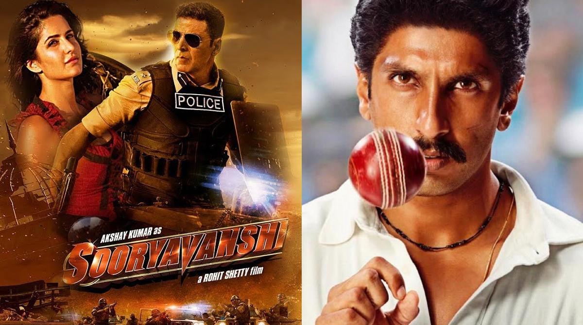 Ranveer Singh's '83' & Akshay's 'Sooryavanshi' to hit big screens!
