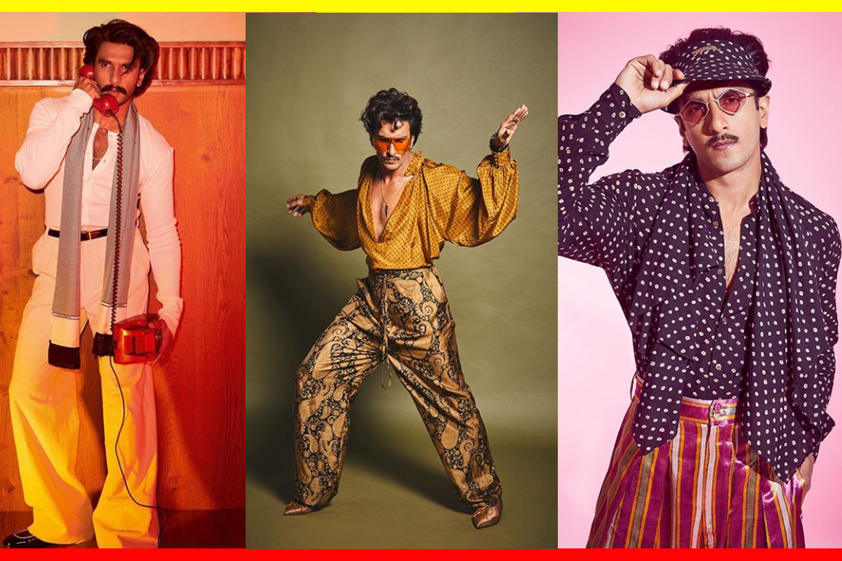 These photos will prove Ranveer Singh's fashion sense is one of a kind