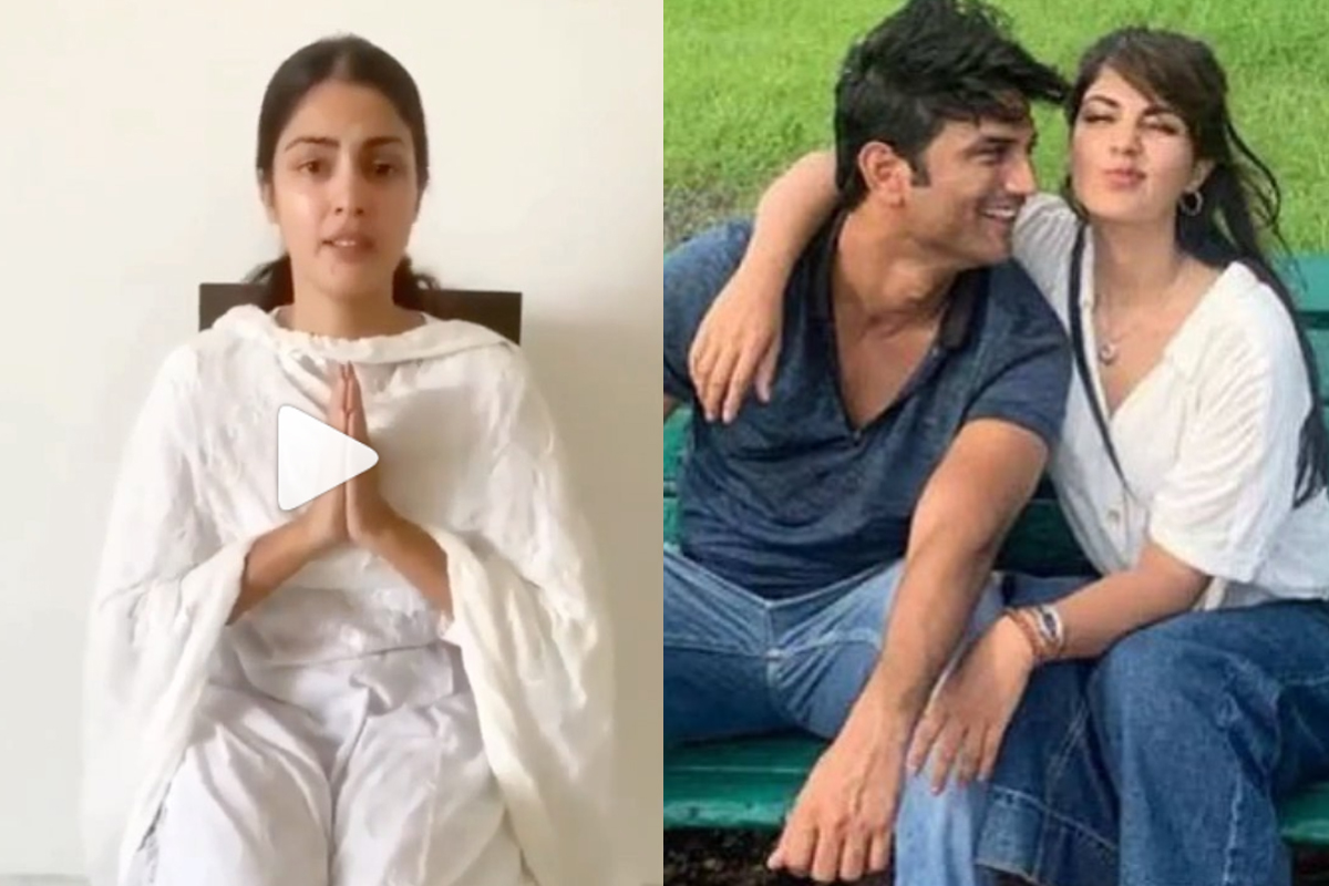 Sushant Death Case: Truth shall prevail, says Rhea Chakraborty in fresh video | Watch