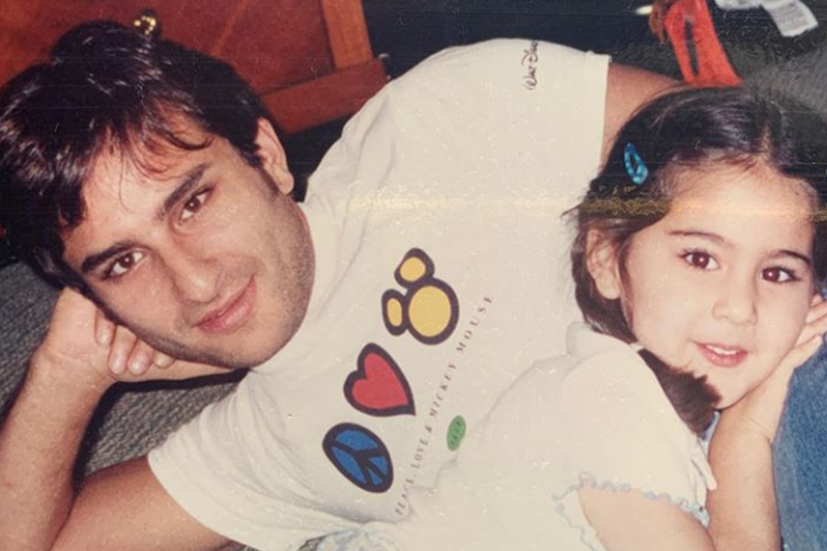 Find out what adorable nickname Sara Ali Khan uses for her father