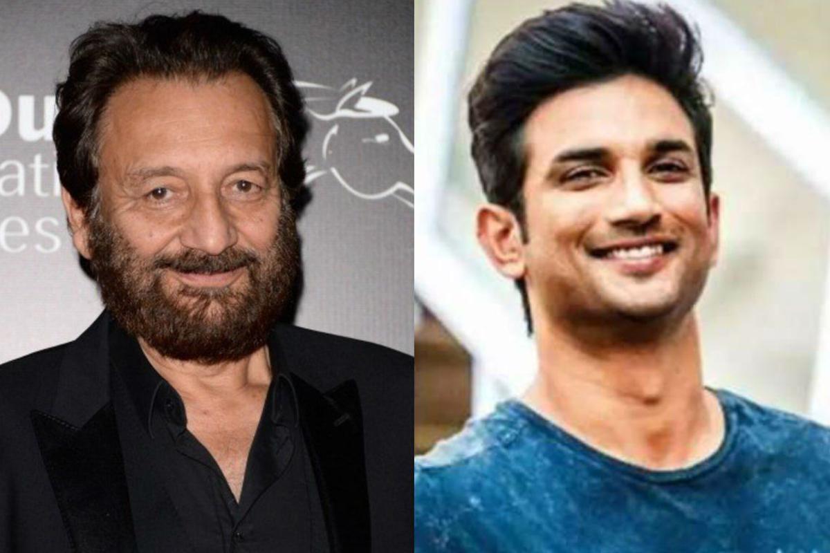 If ever made, 'Paani' will be a dedication to Sushant, tweets Shekhar Kapur