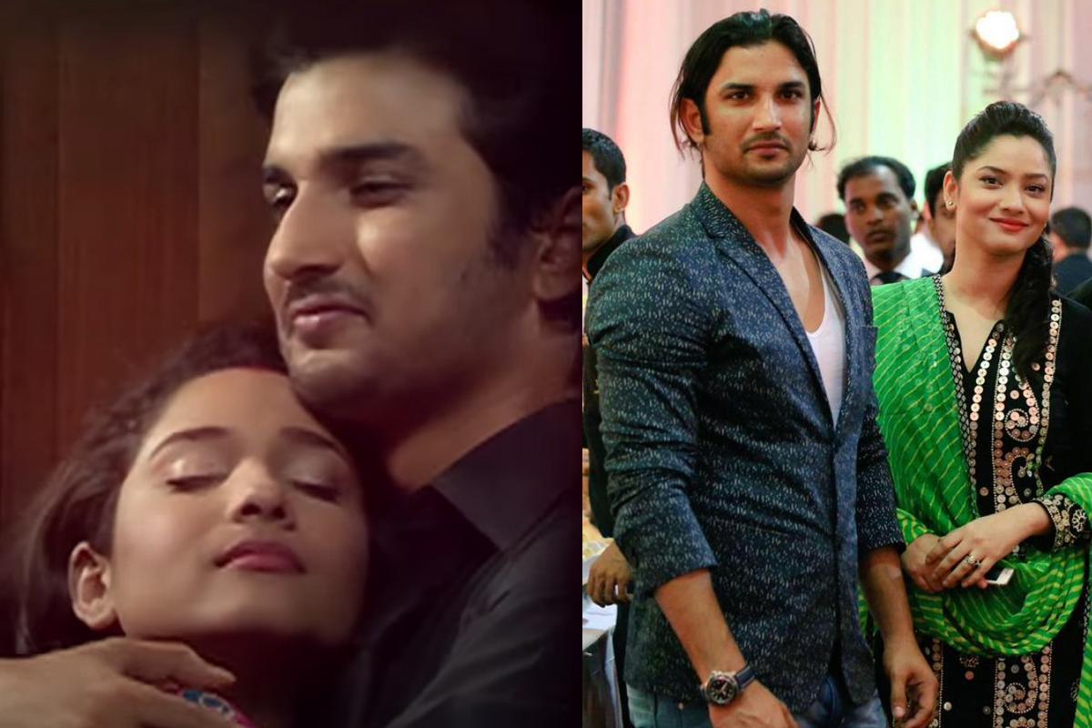 Sushant Singh, Ankita Lokhande's romantic video goes viral