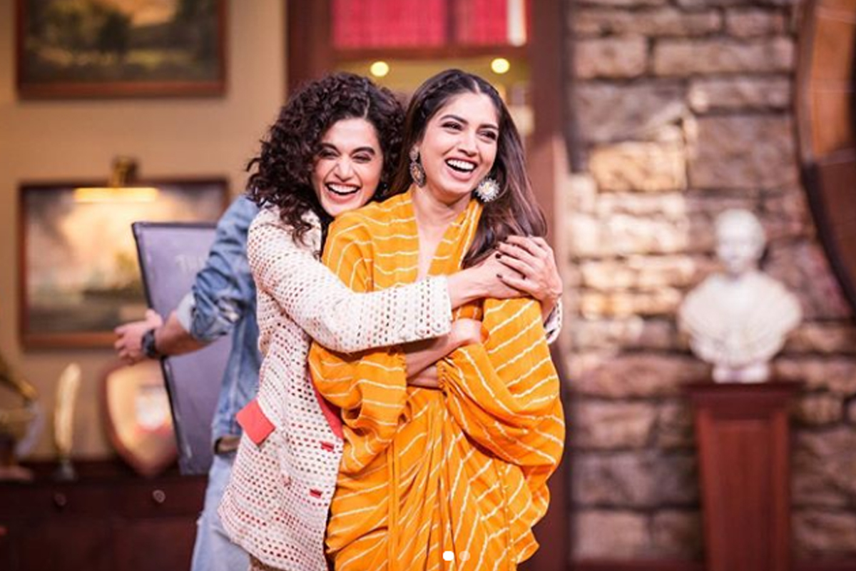 'Saand Ki Aankh' was my 'first biggest experiment': Taapsee Pannu
