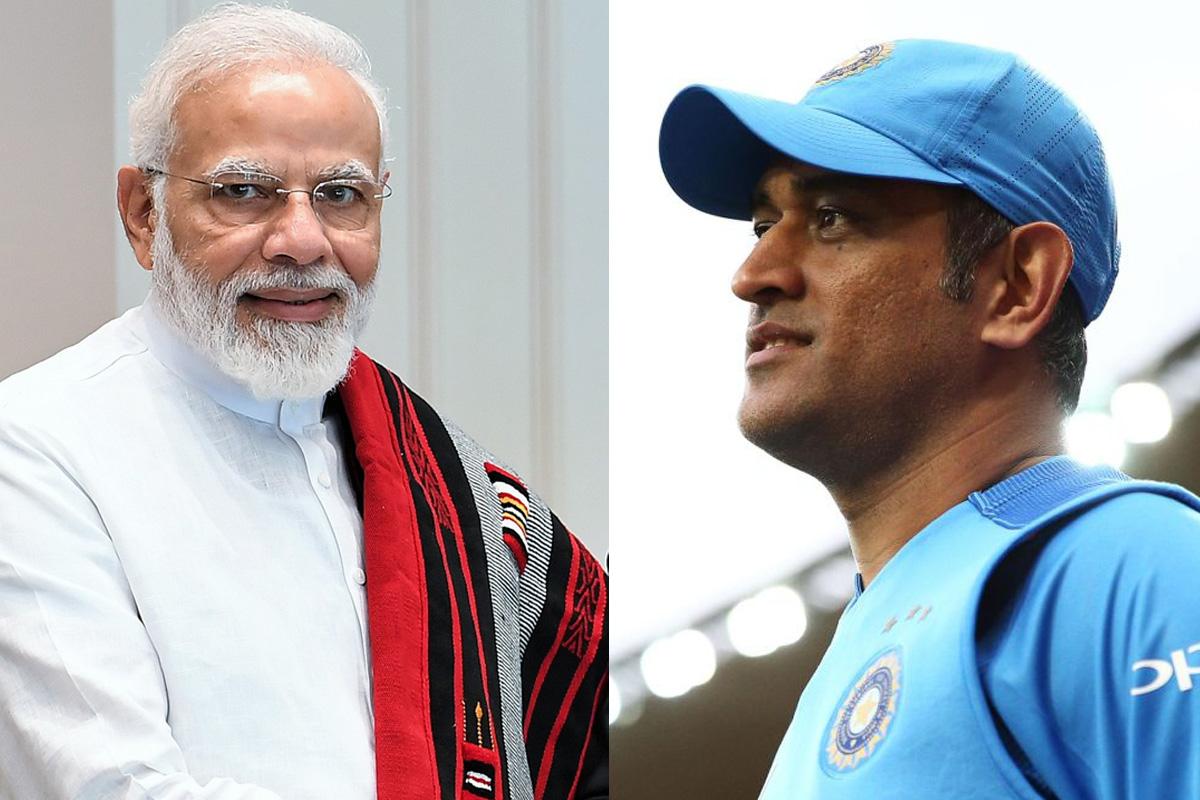 Modi tags Dhoni as 'vintage'; MS thanks PM for appreciation!