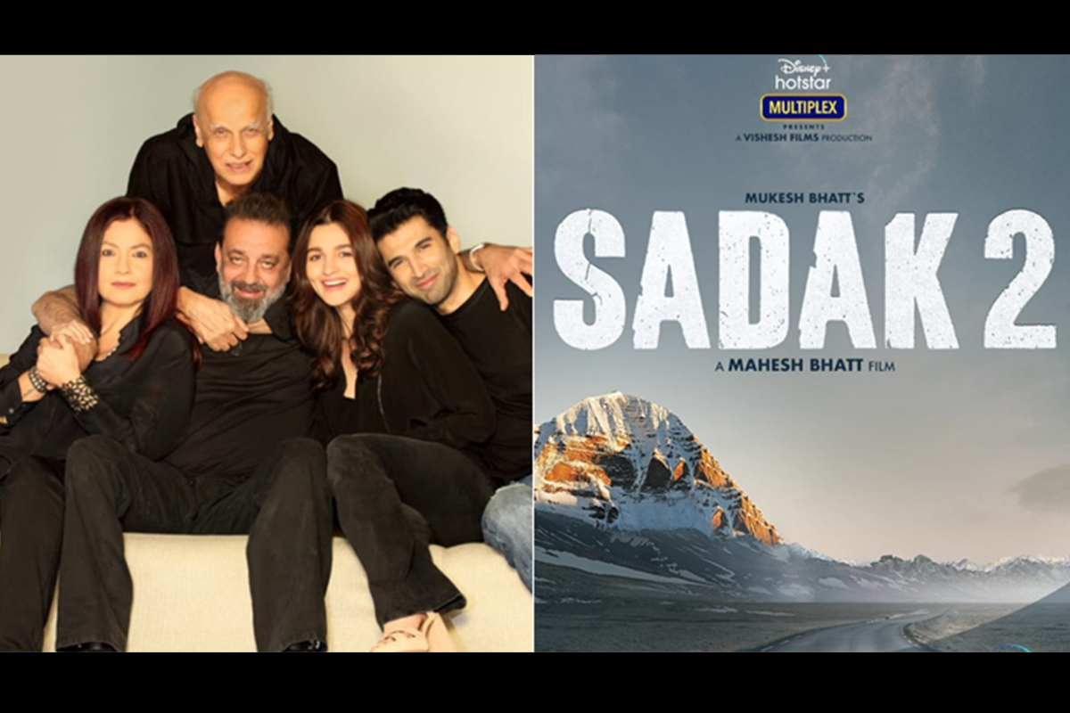 Sadak 2 trailer becomes world's 'Third Most-Disliked trailer'with 1.8M down votes
