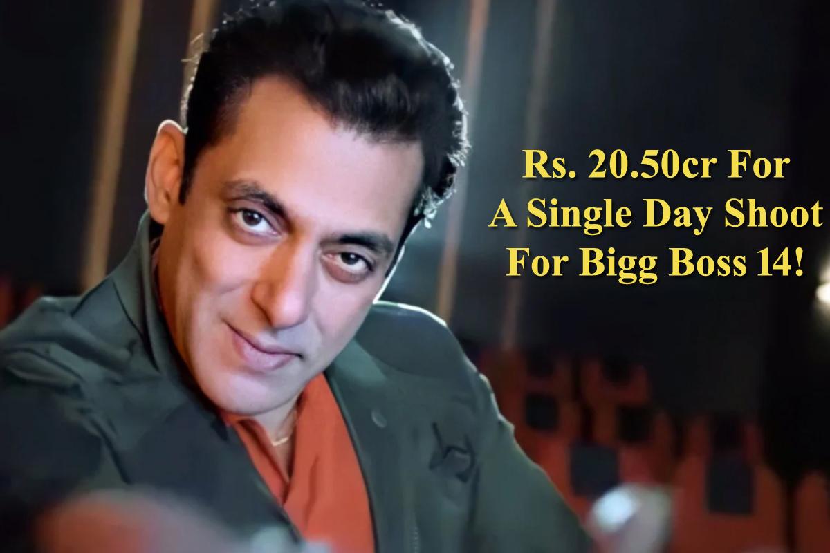 Salman Khan to get whopping INR 250 crore for 'Bigg Boss 14'!