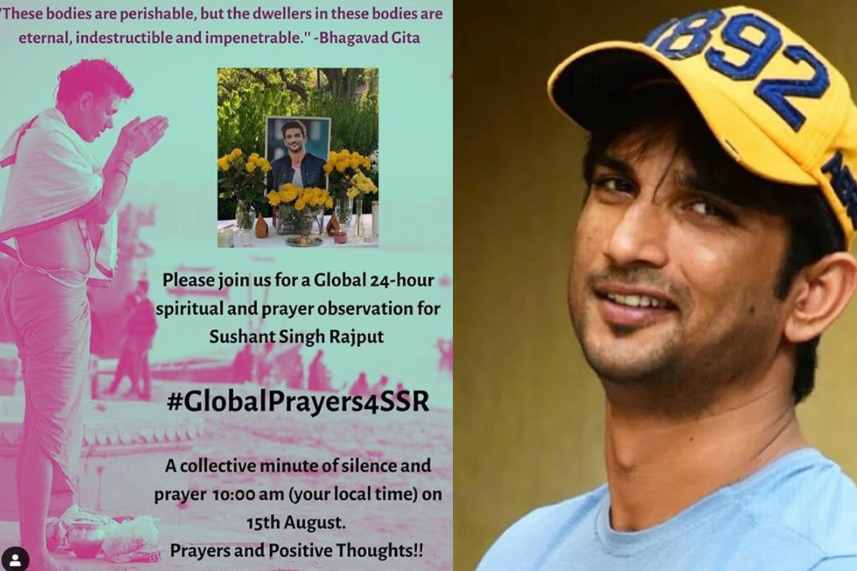 Sushant Singh's family hosts #GlobalPrayers4SSR marking 2-month death anniversary