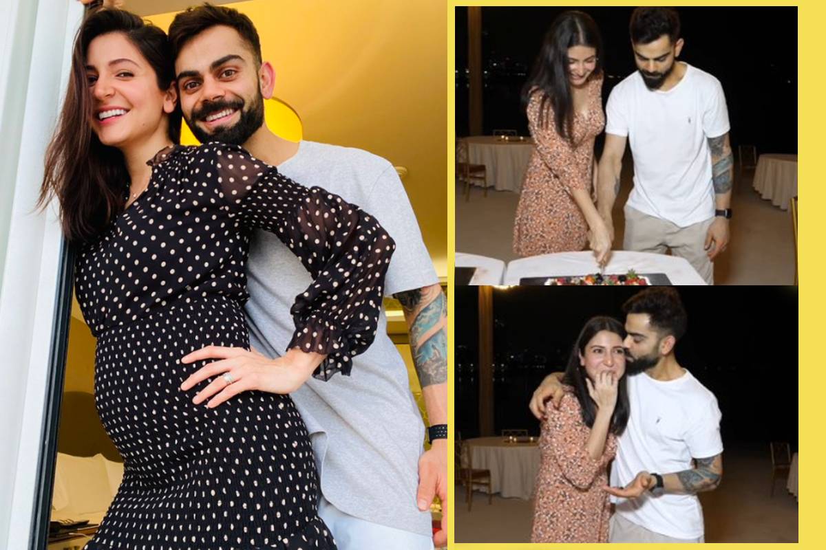 Virushka cut the cake as they celebrate pregnancy news with RCB team in Dubai | VIDEO