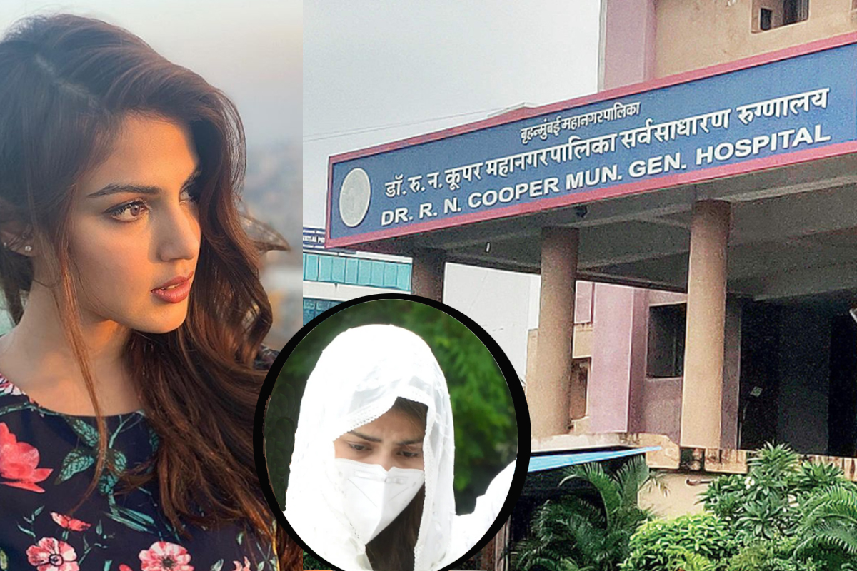 Rhea's mortuary visit gets Cooper hospital 'Show-cause notice'; BMC, Police are yet to receive it: SHRC