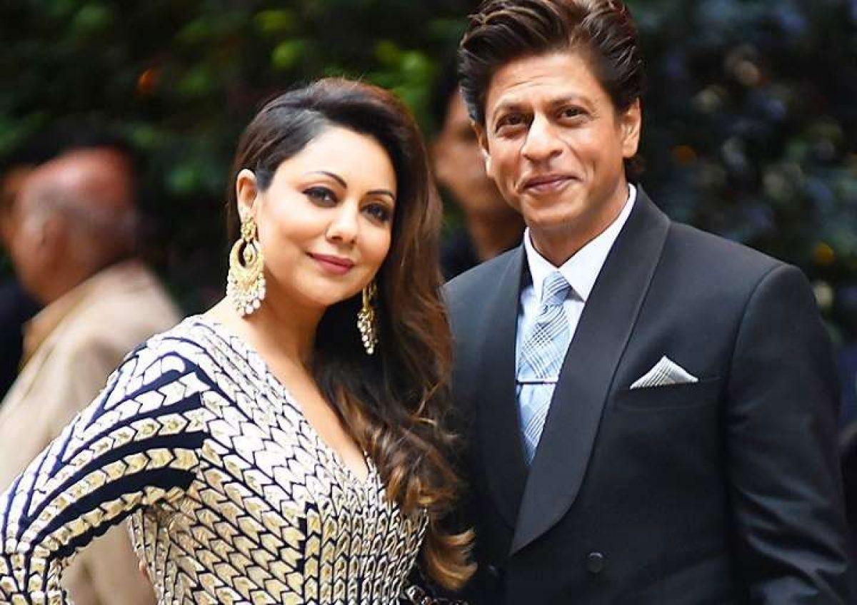 Gauri Khan and Shahrukh Khan
