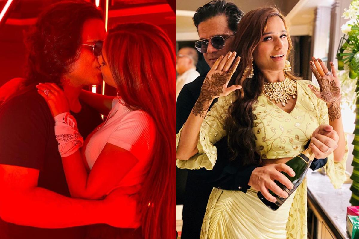 Poonam Pandey marries her longtime beau Sam Bombay; PICS INSIDE
