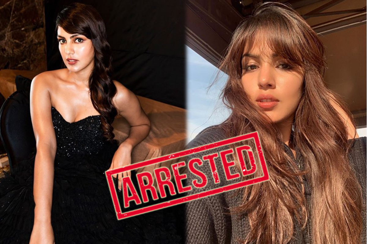 NCB arrests Rhea Chakraborty over drug angle in Sushant death case