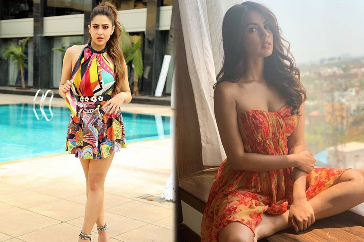 Rhea Chakraborty took drugs from Sara Ali Khan? Both have common 'Peddler'!
