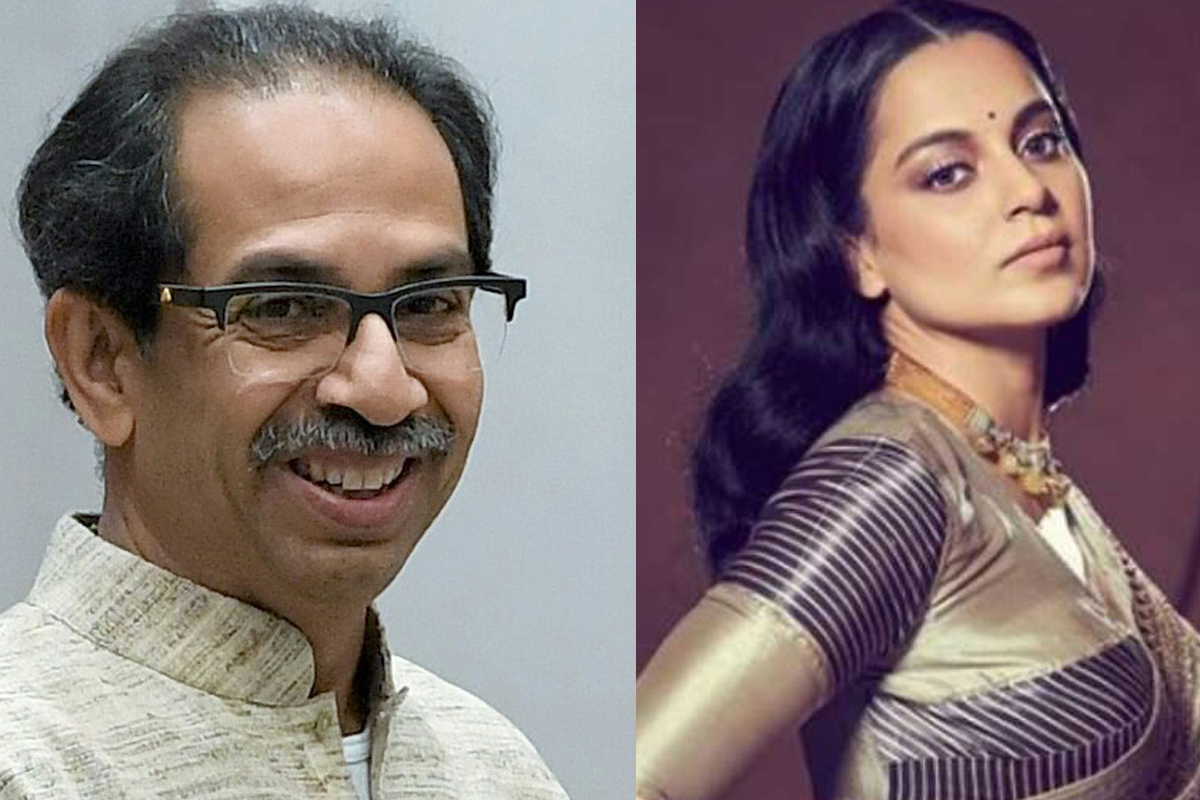 FIR filed against Kangana for her verbal attack on Maha CM Uddhav Thackeray