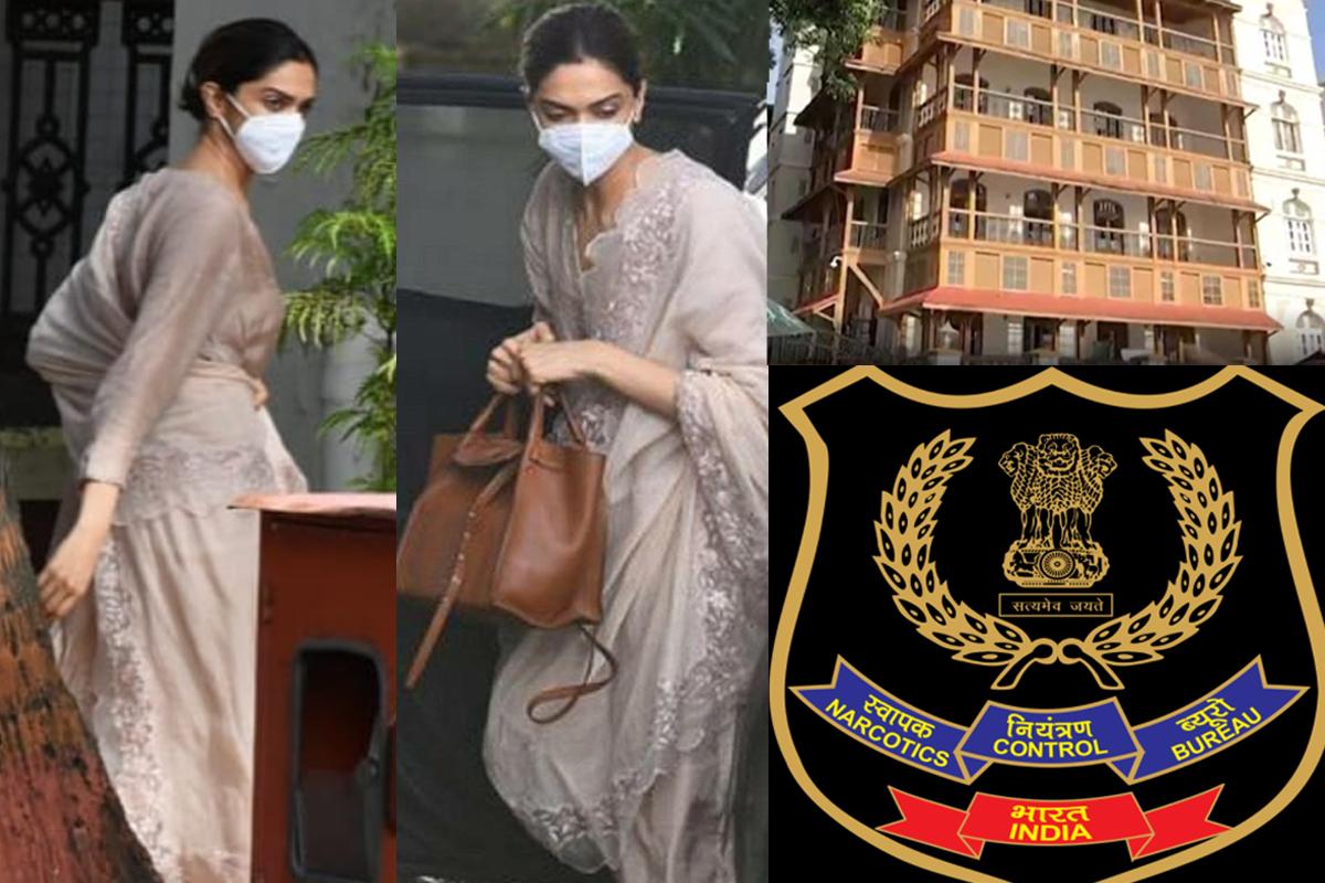 VISUALS: Deepika Padukone arrives at NCB office for probe over her drug-chat with manager Karishma Prakash