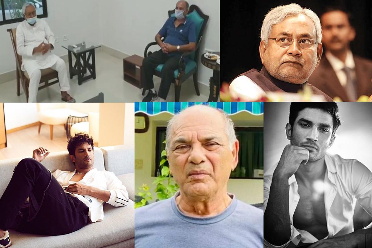 Sushant's father KK Singh meets Bihar CM after HC reserves orders on Rhea's bail plea