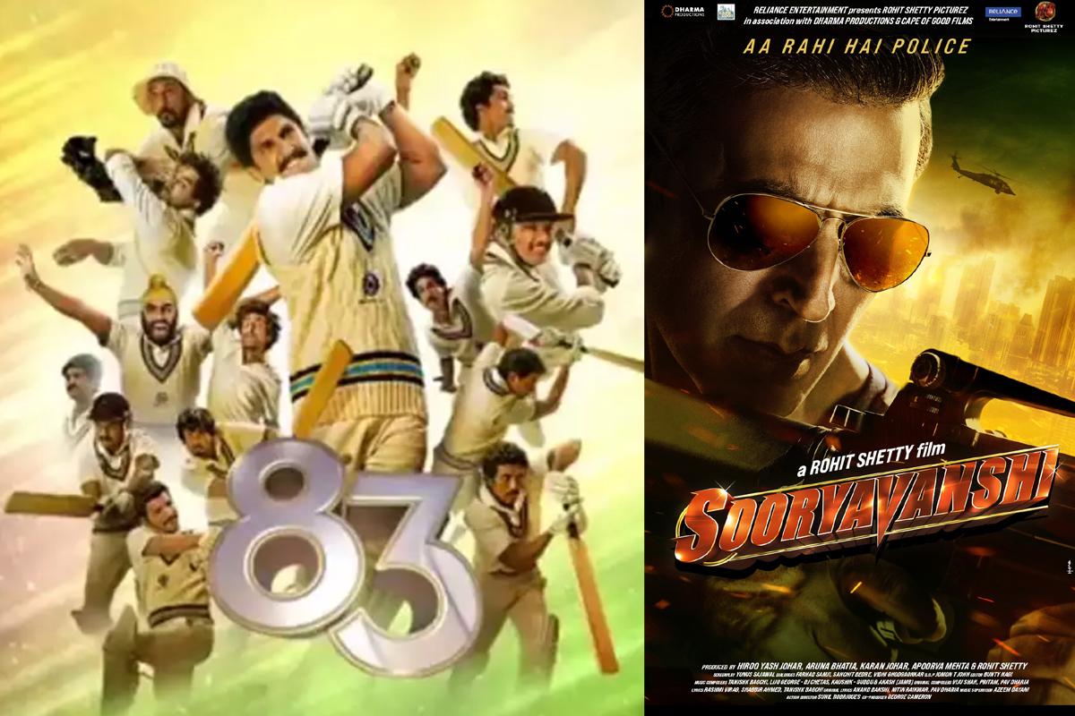 Big Movie Release: Deep-Veer starrer '83 on X-mas; Akshay-Katrina's 'Sooryavanshi' in 2021