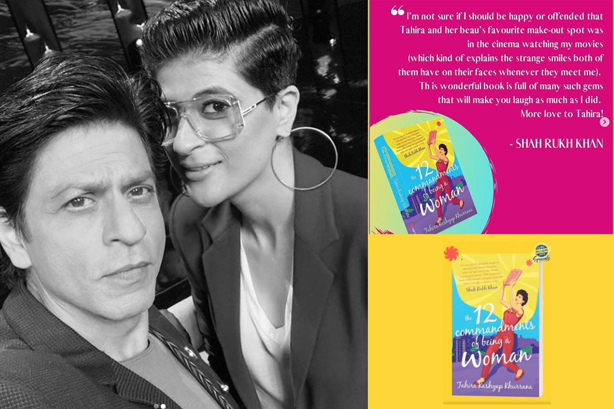 Shah Rukh Khan reviews Tahira Kashyap's book; She says my heart is bouncing with joy!