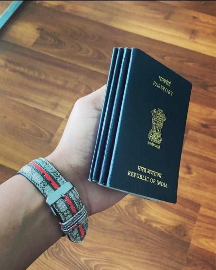 how his Passport Looks like
