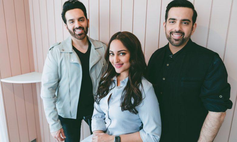 Luv, Kussh and Sonakshi Sinha