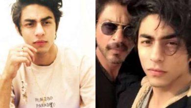 Aryan Khan and SRK